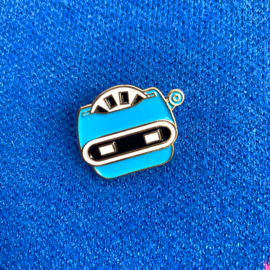 Blue Diarama Pin