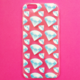 Diamonds Emoji Phone Case
