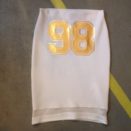 White 98 Pencilskirt