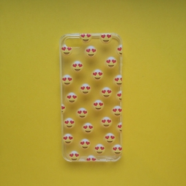 Hearteyes Emoij Phone Case