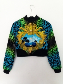 Versace X H&M Bomber Jacket Cropped