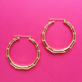 Bamboo Earring Gold Small