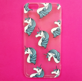 Unicorn White/Blue Phone Case
