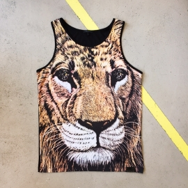 Diamond Supply Lion Tanktop Size L