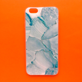 Mint Green Marble Phonecase
