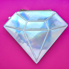 Iridescent Diamond Handbag