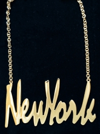 Gold Chain 'New York' XL