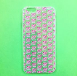 100 Hundred Emoji Phone Case