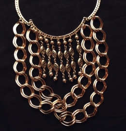 Gold Bohemian Chains Necklace