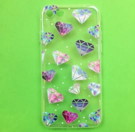 Galaxy Diamonds Phone Case