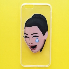 Crying Kimoji Phone Case