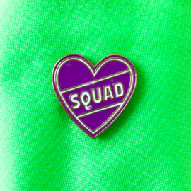 Squad Heart Pin