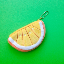 Lemon Yellow coin wallet