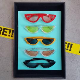 Half frame Y2K Sunglasses