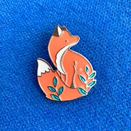 Pink Fox Pin