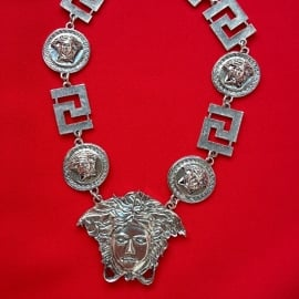 Medusa Silver Necklace