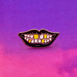 Crazy Smile Pin