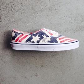 Vans Retro American Flag