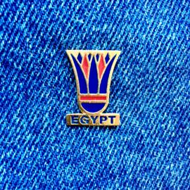 Egypt Flower Pin