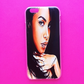 Aaliyah Illustration Phone Case