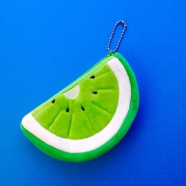 Kiwi fruit green coin wallet 2