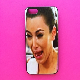 Crying Kim Kardashian Phone Case