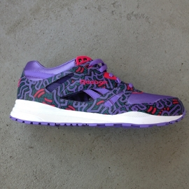 Reeboks X Keith Haring Purple Size 42