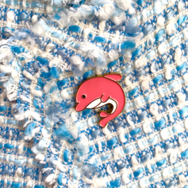 Pink Dolphin Pin