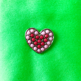 Heart Gems Pin