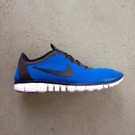Nike Free Run 3.0  Fitsole Low Blue Size 44