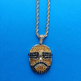 Rick Ross Diamond Long Chain Necklace