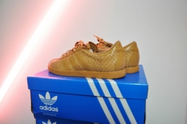 Adidas Tobacco Weave Sneakers Size 40