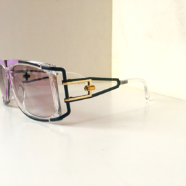 Purple Retro Hiphop Sunglasses