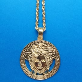 Medusa Long Chain Necklace  XL