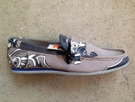 Grey Printed Loafer size 46