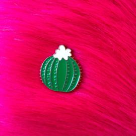 Round Cactus Pin