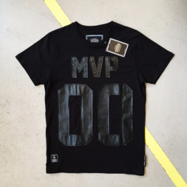 Black MVP T-Shirt by Criminal Damage