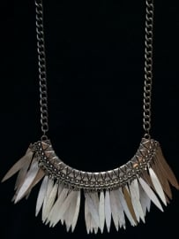 Necklace Bohemian in Bronze