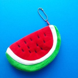 Red Watermelon Coin Wallet