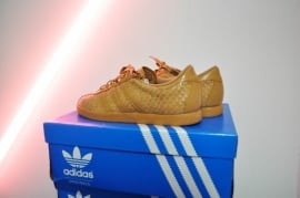 Tobacco Weave Adidas Sneakers Size 40