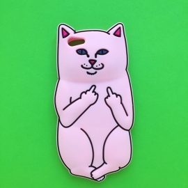 Light Pink Nermal Cat Phone Case