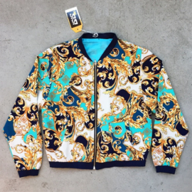 Baroque Turquoise Jacket