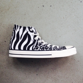 Zebra Print Canvas High