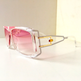 Pink Retro Hiphop Sunglasses