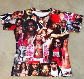 Lil Wayne Photoprint T-shirt