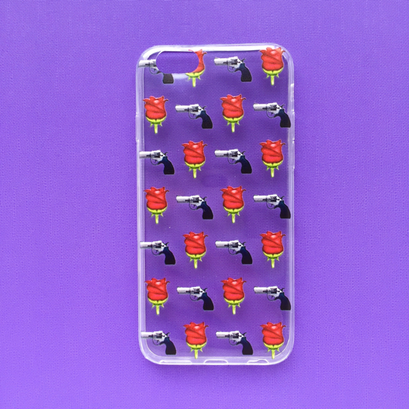 Guns & Roses Emoji Phonecase