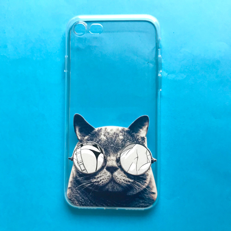 Sunglasses Cat Phone Case