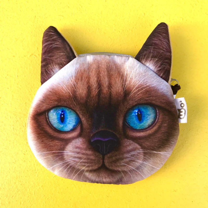 Siamese Cat Wallet