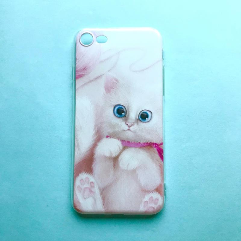 Pink Cat Phonecase