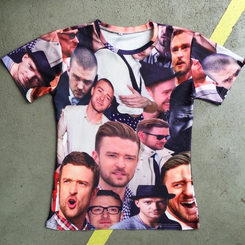 Justin Timberlake Photoprint T-shirt